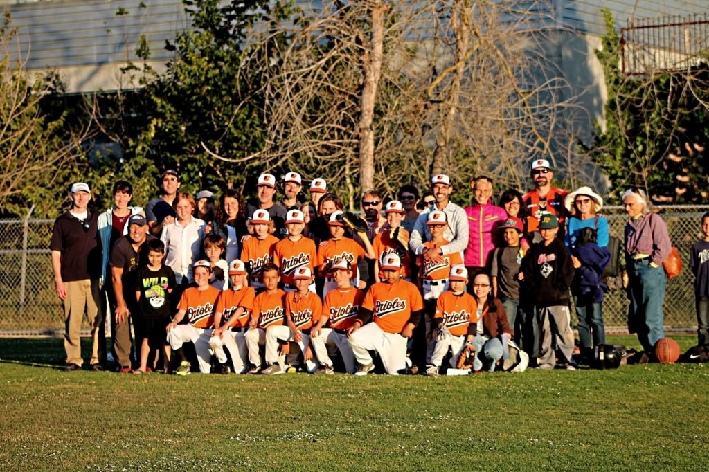Orioles Championship Family Photo '14